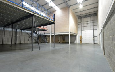 What is the installation process for Mezzanine flooring?