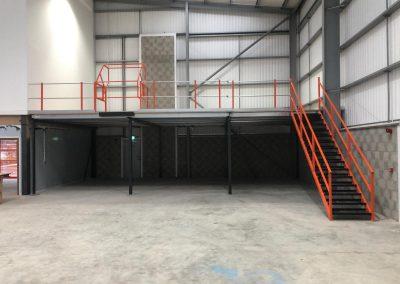 Mezzanine flooring installation